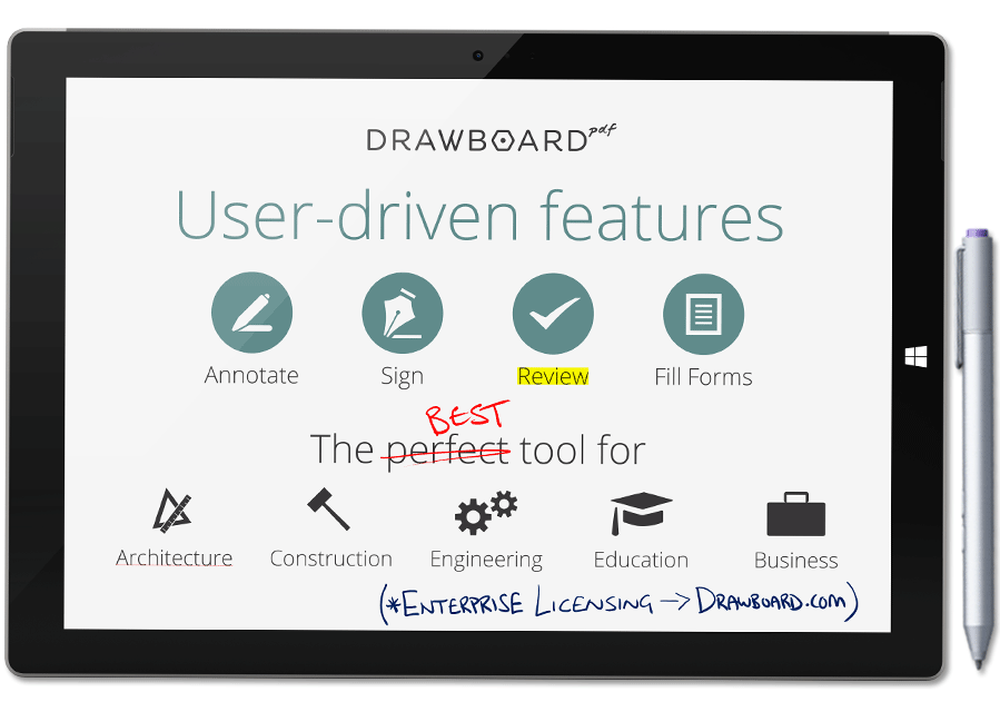 drawboard pdf free for surface pro 4